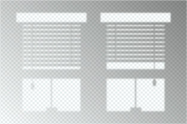 Zwart-wit grijs schaduwen overlay effect concept