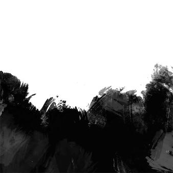 Zwart-wit grunge abstracte achtergrond