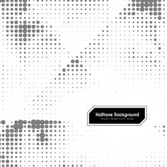 Zwart-wit halftoon achtergrond ontwerp