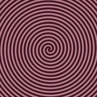 Zwart-wit hypnotische achtergrond. eps-10.