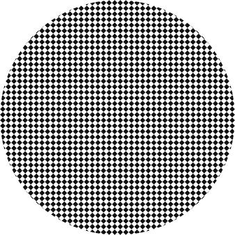 Zwart-wit hypnotische achtergrond. vector illustratie. eps-10.