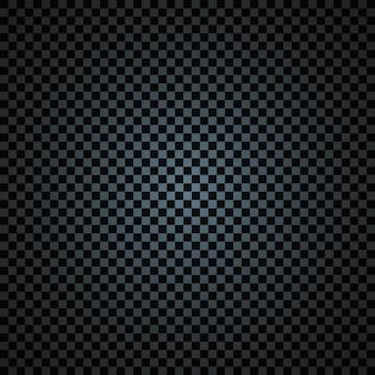 Zwart-wit lege transparante donkere schaken textuur vignet lege achtergrond