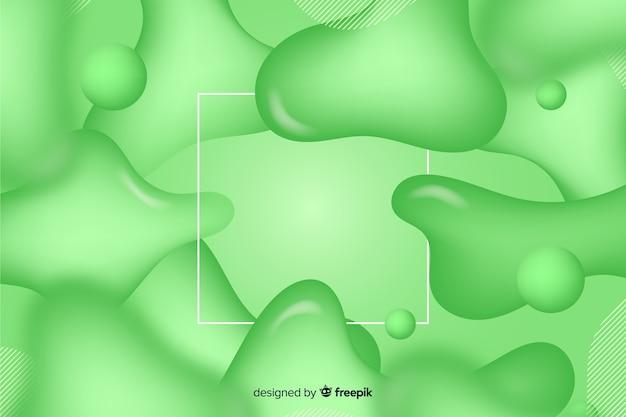 Zwart-wit realistische vloeistofeffectachtergrond