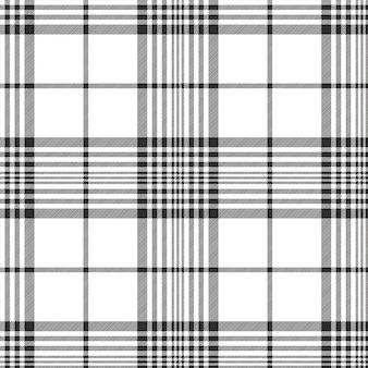 Zwart-wit stoffen diagonale naadloze textuur
