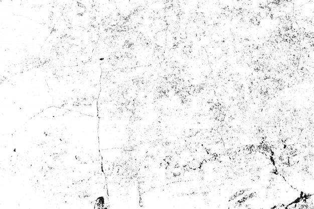 Zwart-wit structuurpatroon met inktvlekken, scheuren, vlekken.
