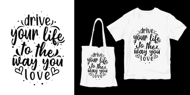 Zwart-wit typografie belettering citaten ontwerp