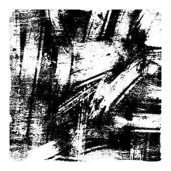 Zwart-wit vector grunge textuur.