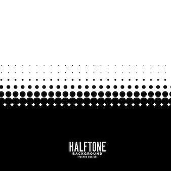 Zwart-witte halftone achtergrond