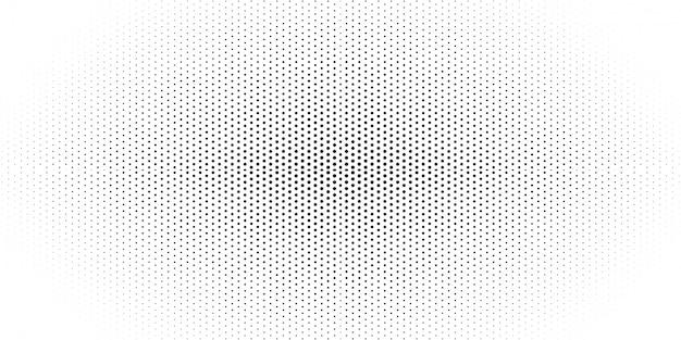 Zwart-witte halftone patroonachtergrond