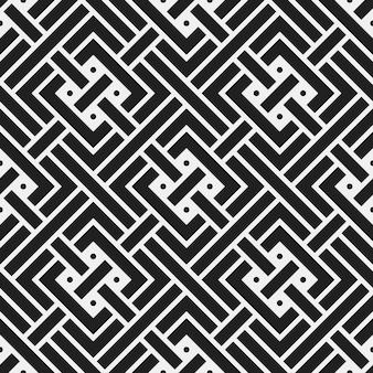 Zwart-witte patroonachtergrond