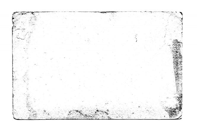 Zwart-witte vector het frame van de grungetextuur achtergrond