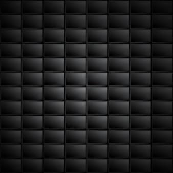 Zwarte abstracte rechthoek achtergrond. vierkanten