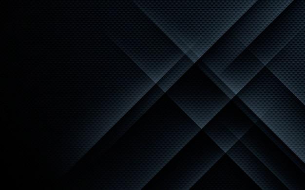 Zwarte abstracte textuur geometrische achtergrond