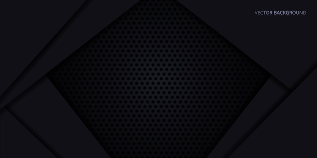 Zwarte achtergrond. donkere koolstofvezel textuur. donkere het staalachtergrond van de metaaltextuur.