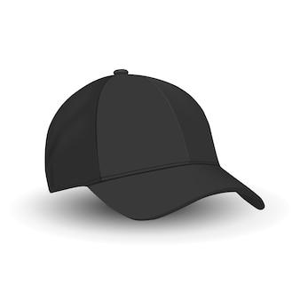 Zwarte baseballcap