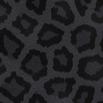 Zwarte dierlijke huid textuur