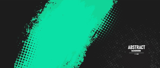 Zwarte en groene abstracte grunge textuur achtergrond