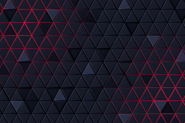 Zwarte en rode abstracte achtergrond