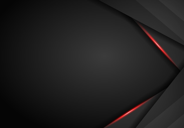 Zwarte en rode metalen achtergrond