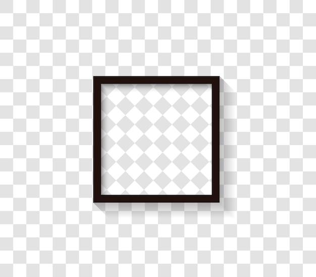 Zwarte fotolijst