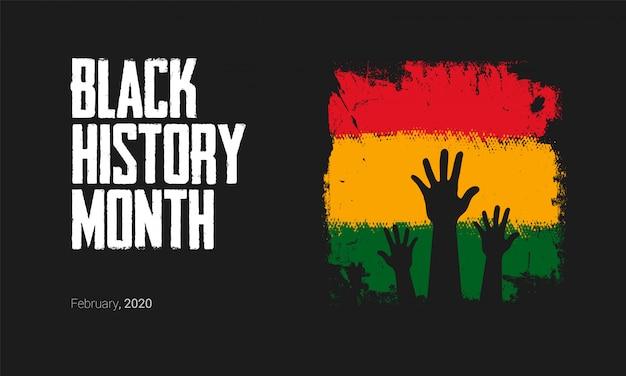 Zwarte geschiedenismaand om belangrijke mensen en gebeurtenissen uit de afrikaanse diaspora te herinneren