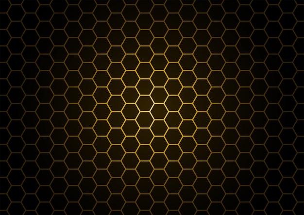 Zwarte honingraat