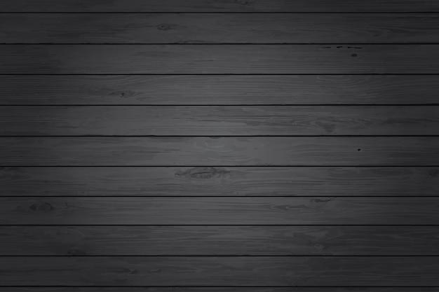 Zwarte houtstructuur achtergrond