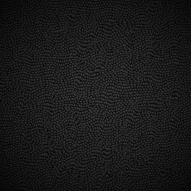 Zwarte lederen textuur achtergrond