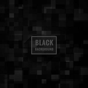 Zwarte mozaïekachtergrond