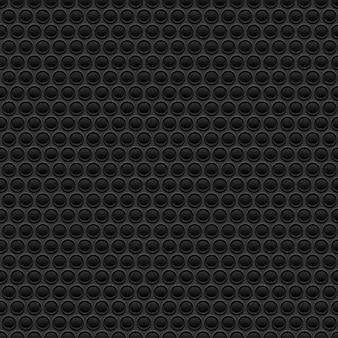 Zwarte rubberen textuur