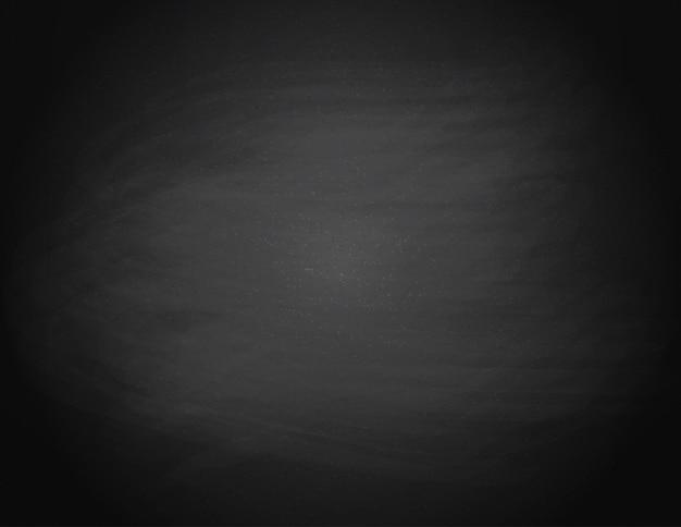 Zwarte schoolbord achtergrond. leeg op een zwart schoolbord. illustratie.