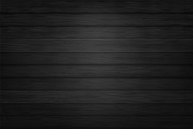 Zwarte textuur houten achtergrondontwerpvector