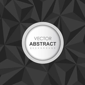 Zwarte vector abstracte achtergrond