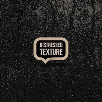 Zwarte verontruste bekledingstextuur van gebarsten beton, steen of asfalt.