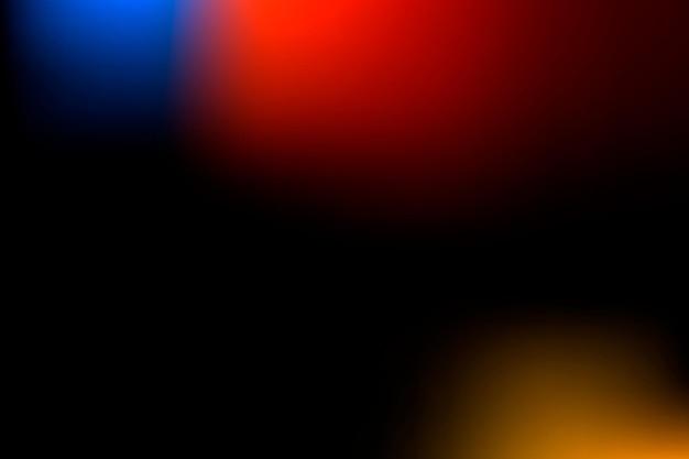 Zwarte vervaagde achtergrond met kleurovergang en rode rand