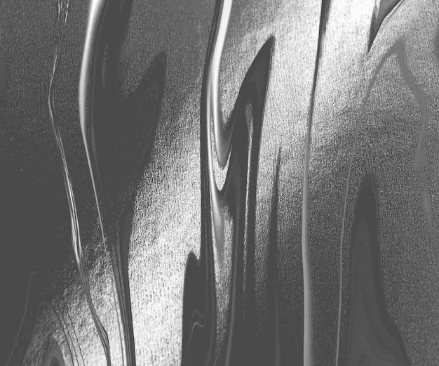 Zwarte vloeibare inkt schilderij abstracte achtergrond.