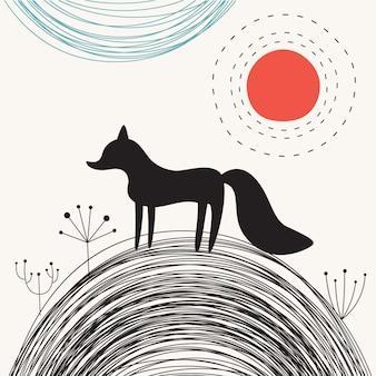 Zwarte vos