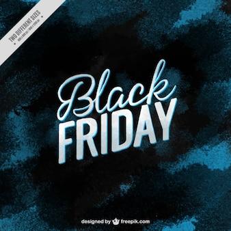 Zwarte vrijdag achtergrond in blauwe tinten