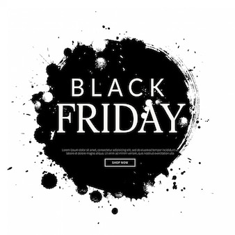Zwarte vrijdag achtergrond, winkelen sjabloon