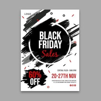 Zwarte vrijdag poster a4