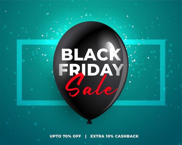 Zwarte vrijdag poster ontwerp achtergrond