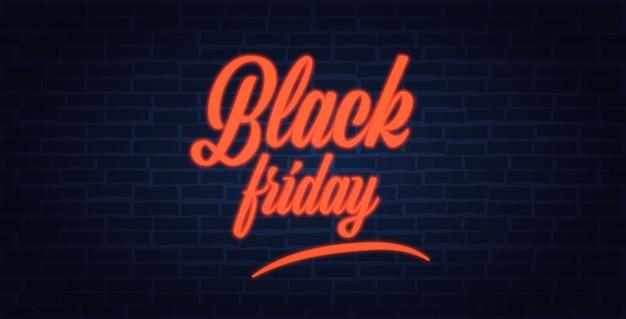 Zwarte vrijdag speciale aanbieding promo marketing vakantie winkelen concept horizontale banner