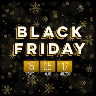 Zwarte vrijdag speciale aanbieding verkoop banner achtergrond.