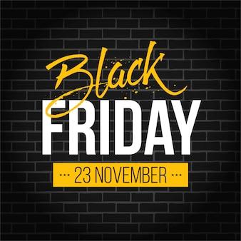 Zwarte vrijdag speciale aanbieding verkoop banner