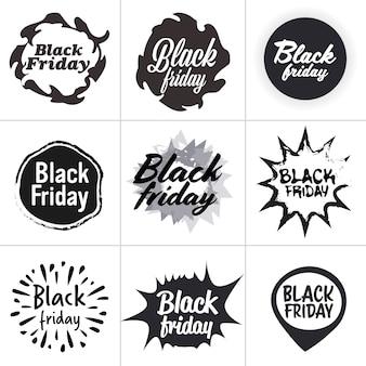 Zwarte vrijdag speciale aanbieding verkoop promo marketing vakantie winkelen