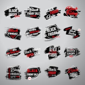 Zwarte vrijdag-tags