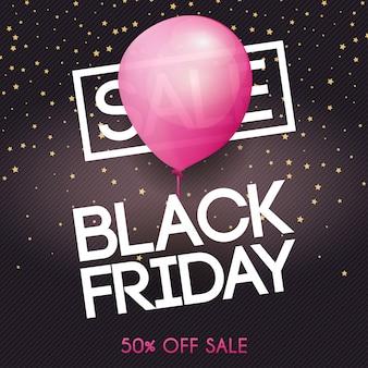 Zwarte vrijdag. uitverkoop. kan gebruikt worden voor website en mobiele website banners, web, posters, e-mail en nieuwsbrief