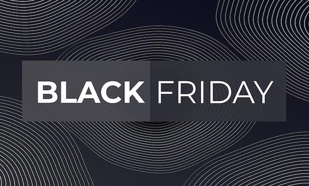 Zwarte vrijdag vectorillustratie