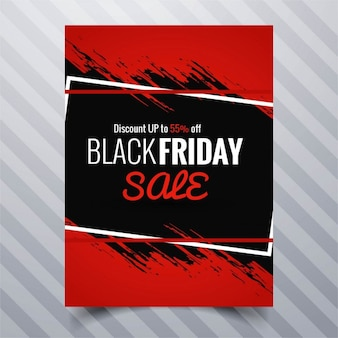 Zwarte vrijdag verkoop brochure