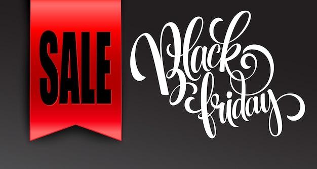 Zwarte vrijdag verkoop ontwerpsjabloon. vectorillustratie eps 10